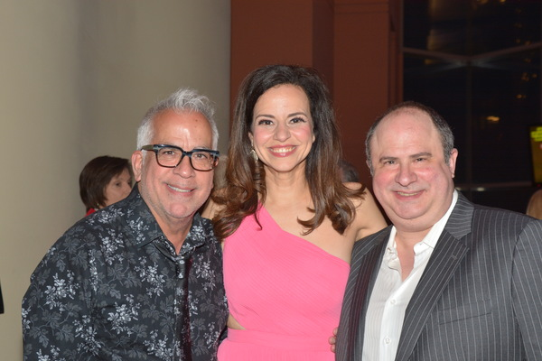 Richard Jay Alexander, Mandy Gonzalez and James Sampliner