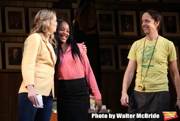 Heidi Schreck, Thursday Williams and Mike Iveson