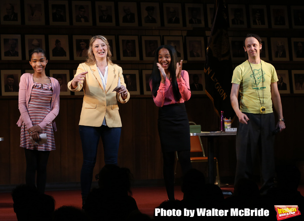 Rosdely Ciprian, Heidi Schreck, Thursday Williams and Mike Iveson Photo