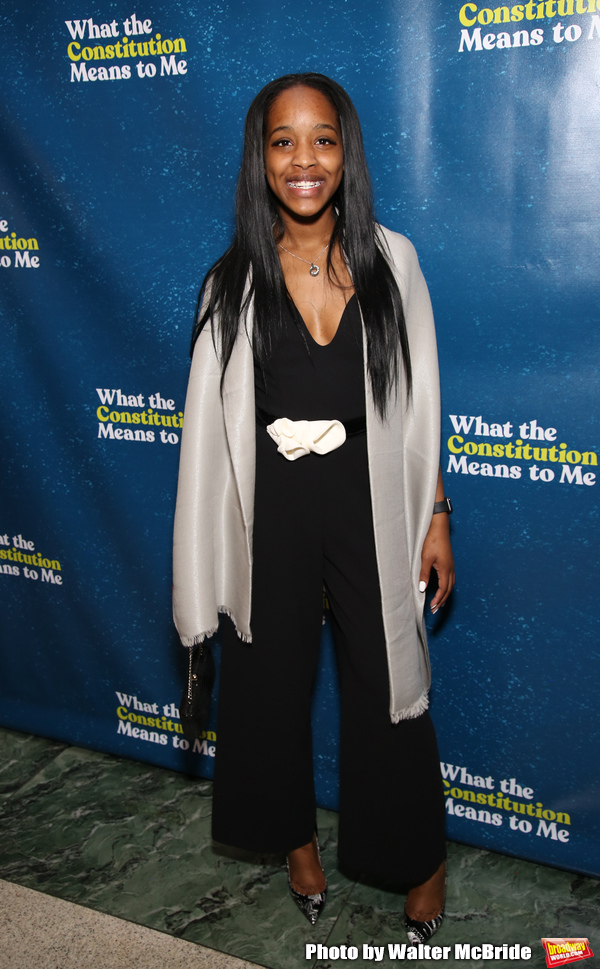 Photo Coverage: Inside the WHAT THE CONSTITUTION MEANS TO ME Opening Night Party