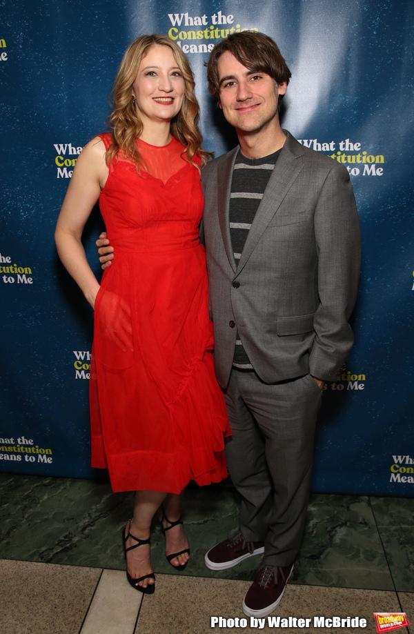 Heidi Schreck and Kip FaganNew York City.