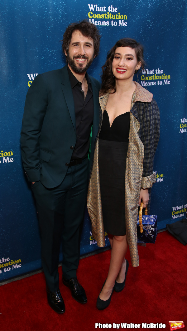 Josh Groban & Girlfriend Schuyler Helford