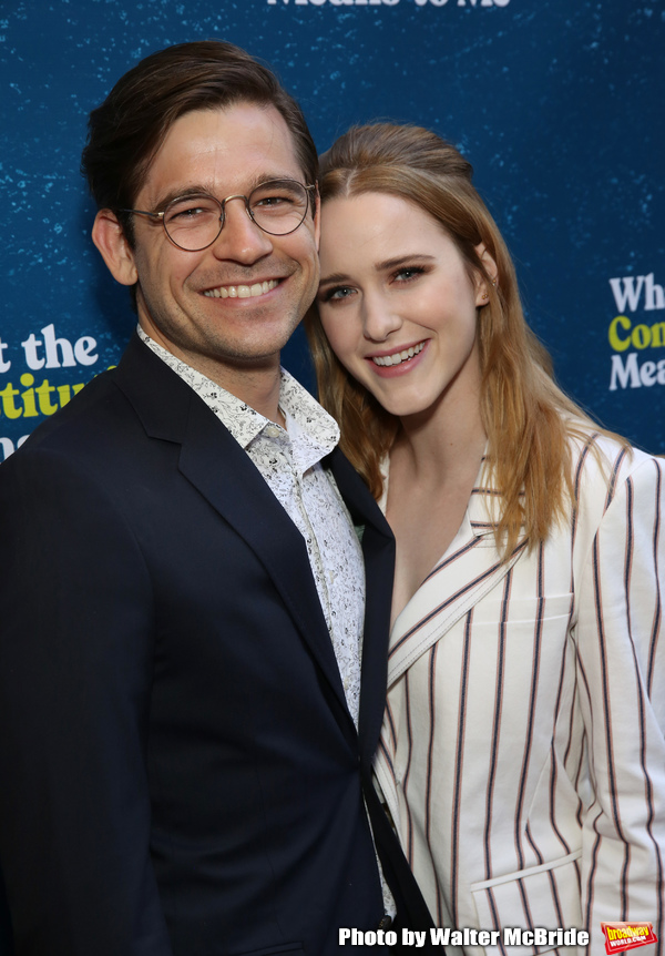 Jason Ralph and Rachel Brosnahan Photo