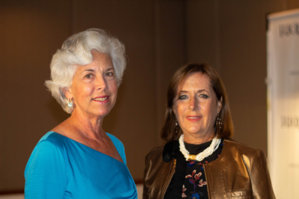 Susan Fraser - RIOULT Board member; Hope Greenfield - RIOULT Board Chair