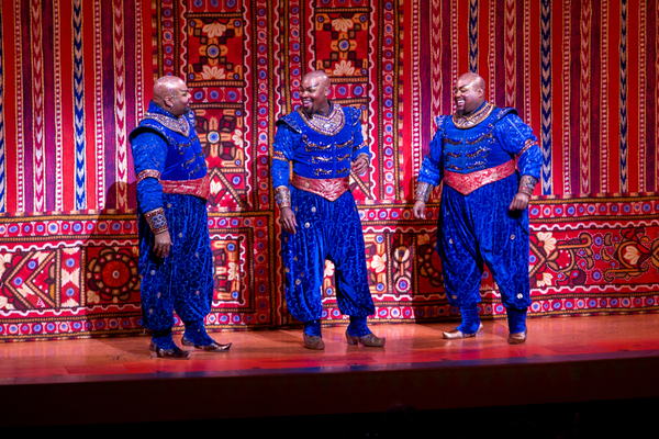 James Monroe Iglehart, Michael James Scott, Major Attaway Photo