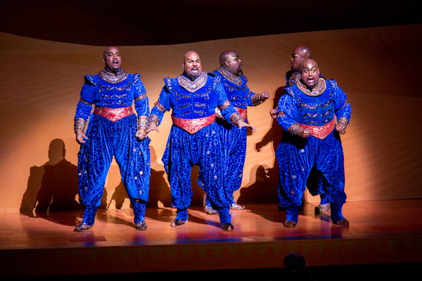 Deonte L. Warren, James Monroe Iglehart, Juwan Crawley, Michael James Scott, Major At Photo