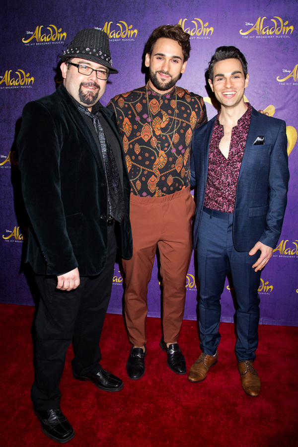 Photo Coverage: 5 Genies (and Disney Alumni) Celebrate ALADDIN's 5th Anniversary on Broadway!