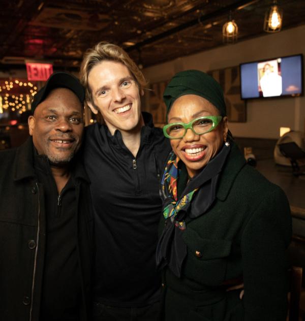 Photo Flash: Ray Shell Celebrates STARLIGHT EXPRESS At Spoonfed NYC