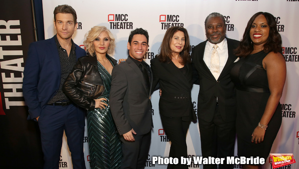 Andy Karl, Orfeh, Tommy Bracco, Paula Wagner, Kingsley Leggs and Allison Blackwell Photo