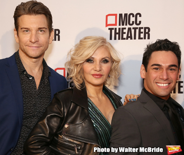 Andy Karl, Orfeh and Tommy Bracco