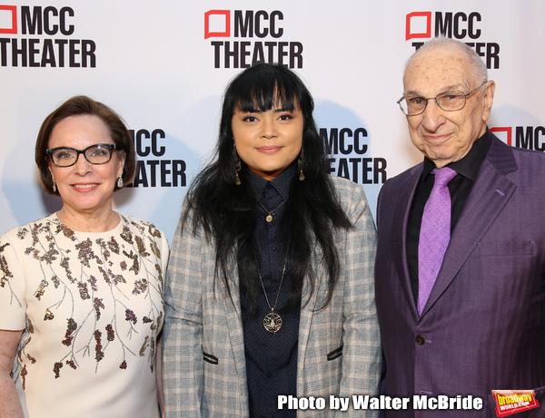 Marianne Mills, Ren Dara Santiago and Harold Newman