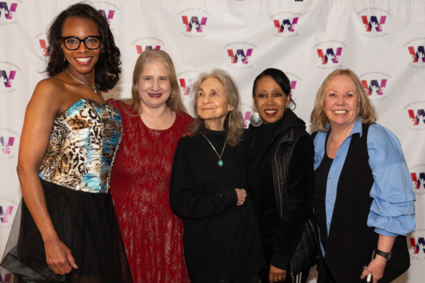 Avis Boone, Shellen Lubin, Lynn Cohen, and Yvonne Curry