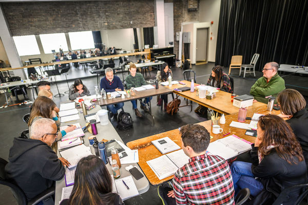 Exclusive Photos! First Day of Rehearsal for Musical Stage Co's NEXT TO NORMAL
