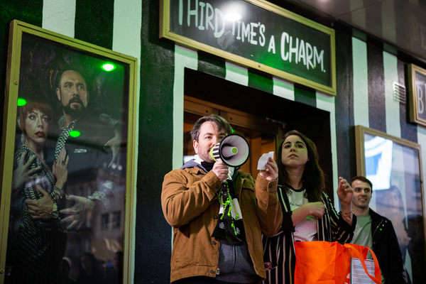 Photo Coverage: Alex Brightman Launches IT'S (GAME) SHOWTIME! at BEETLEJUICE!