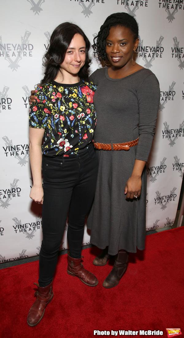 Danya Taymor and Antoinette Nwandu