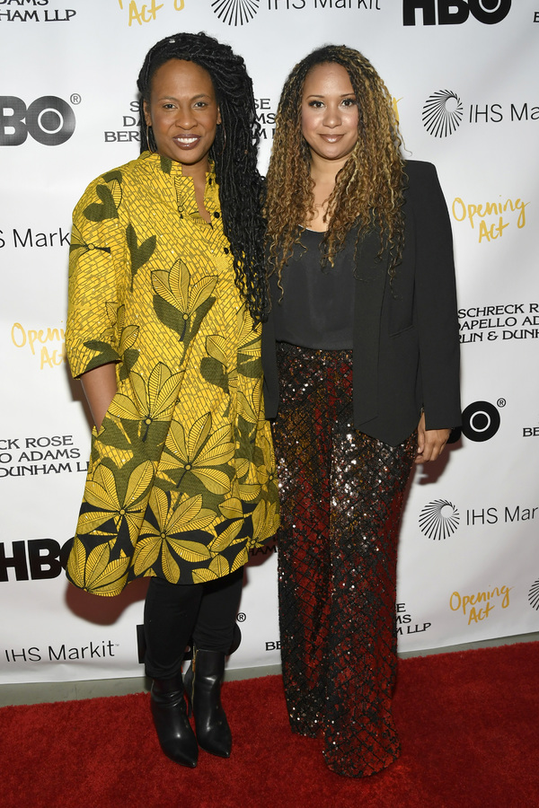 Kamilah Forbes and Tracie Thoms