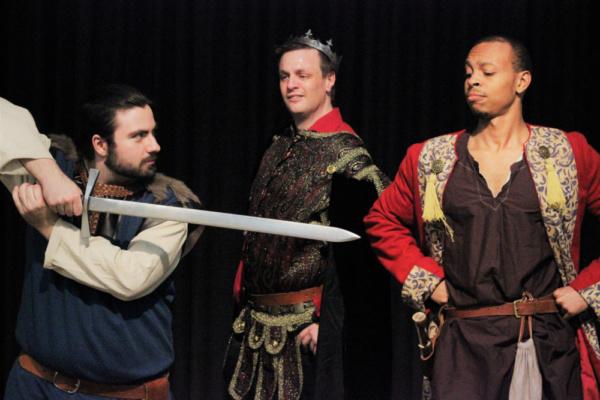 John Quigley, Scott Clay, and Jabari Johnson Photo