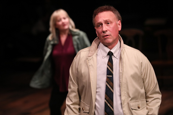 Jeffrey Blair Cornell as Uncle Peck with Julia Gibsons Lil Bit
