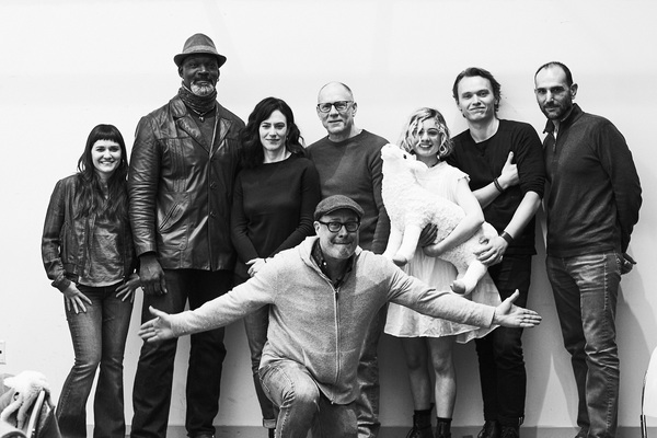 The cast and director of Sam Shepard's Curse of the Starving Class