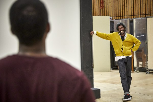 Photo Flash: Inside Rehearsal For SMALL ISLAND at the National Theatre