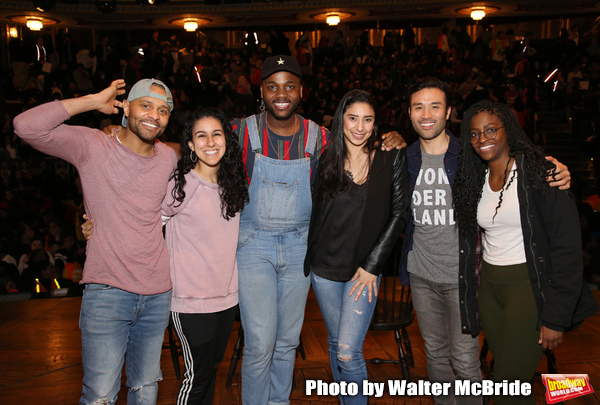 Exclusive Photo Coverage: NYC Students Get Their Shot at HAMILTON's Latest #eduHAM