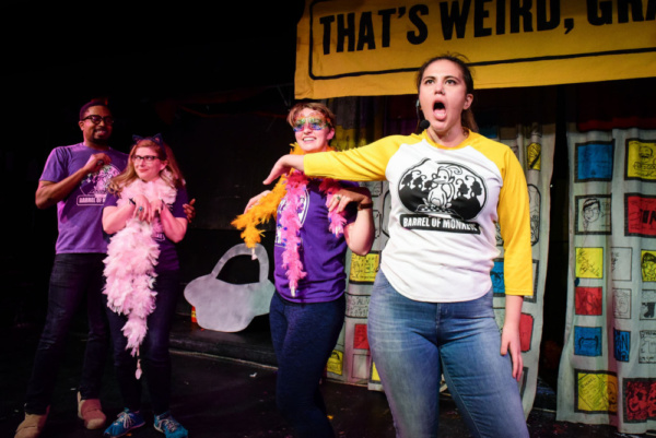 Photo Flash: Barrel Of Monkeys Presents THAT'S WEIRD, GRANDMA: Stories That Sing And Dance