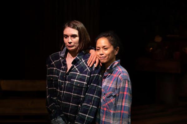 Kimberly Alexander and Amielynn Abellera