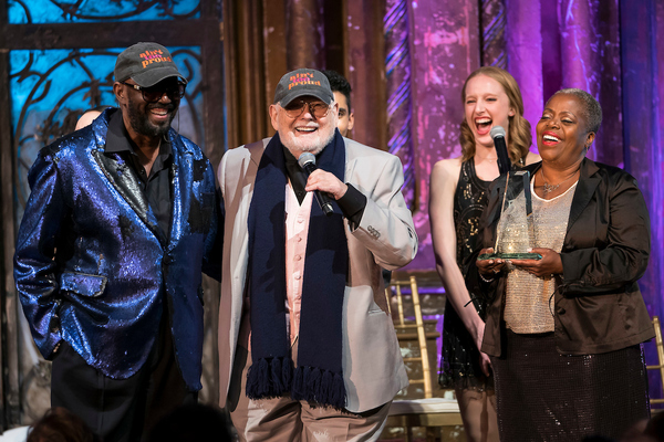Otis Williams, Shelly Berger, Lillias White