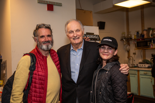 Steven Skybell, Alan Alda, Jennifer Babiak