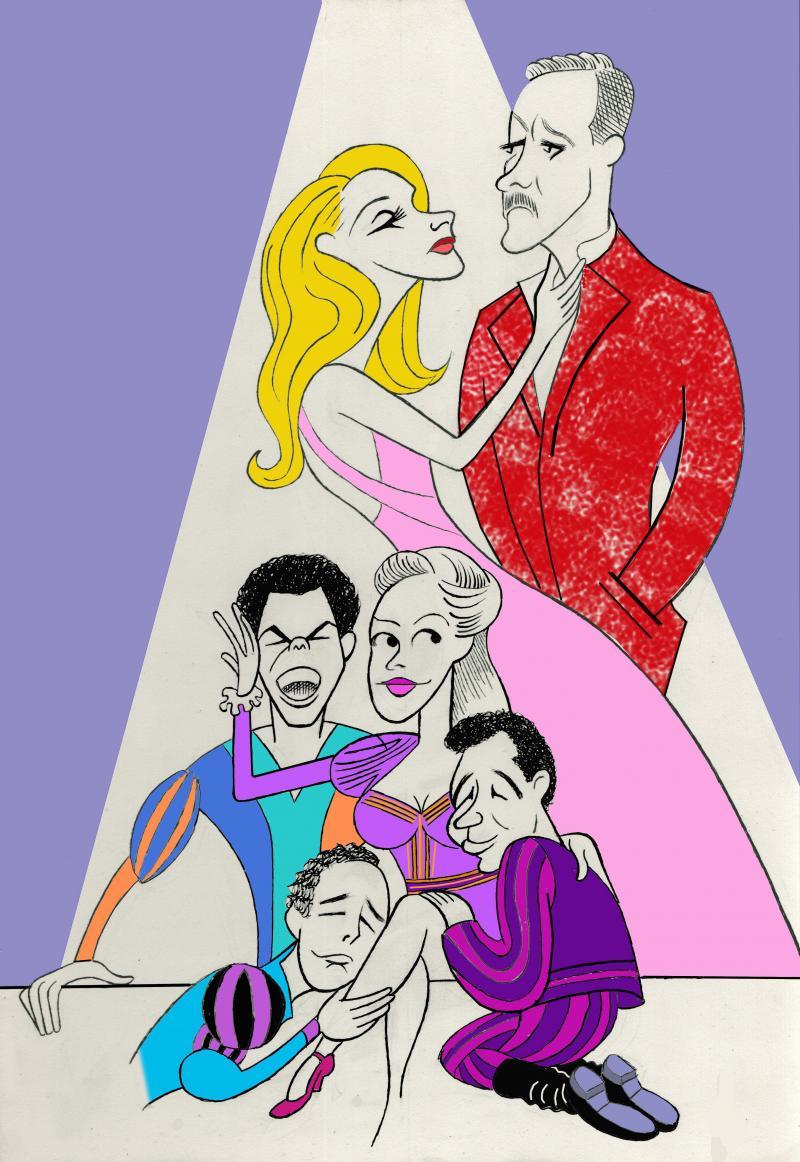 BWW Exclusive: Ken Fallin Draws the Stage - KISS ME, KATE
