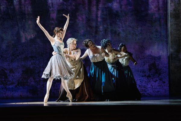 Tiler Peck as Young Marie and the company of Marie, Dancing Still