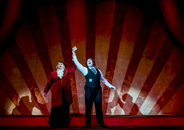 Photo Flash: First Look At Milburn Stone Theatre's A GENTLEMAN'S GUIDE TO LOVE AND MURDER!