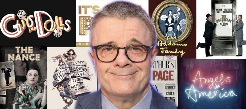 Nathan Lane: Take a Look Back on His Vast and Diverse Career