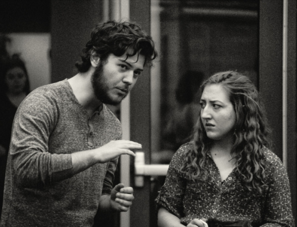 Making MY FAIR LADY @ NMSU THEATRE ARTS  Adam Logan in the role of Henry Higgins & Je Photo