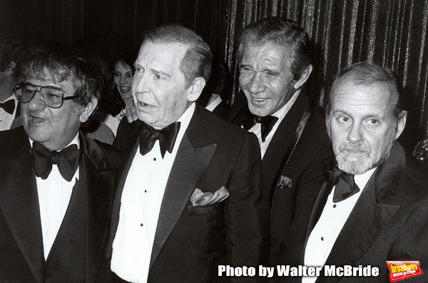 Buddy Hackett, Milton Berle, Jan  Photo