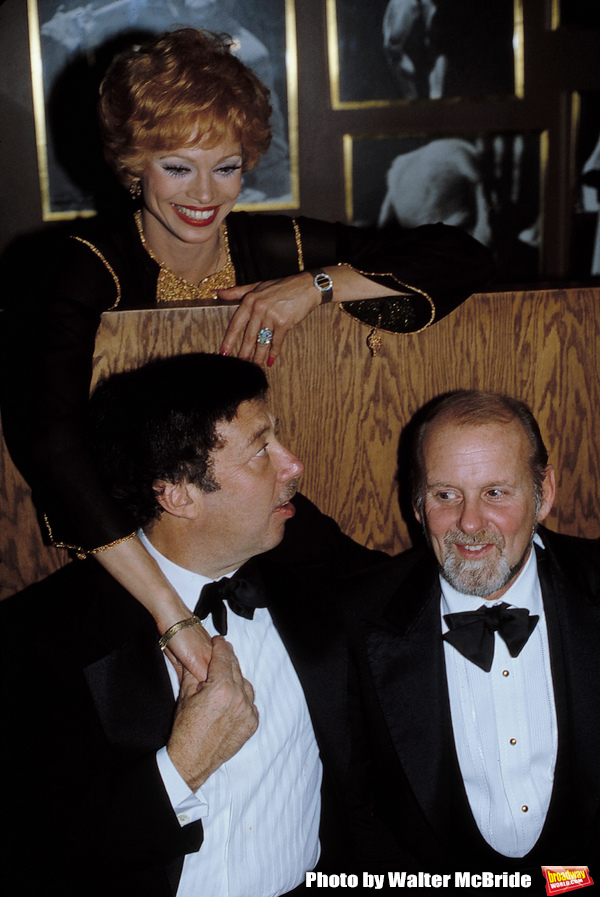 Cy Coleman with Bob Fosse and Juliet Prowse Attending  the Friars Club Roast for Budd Photo
