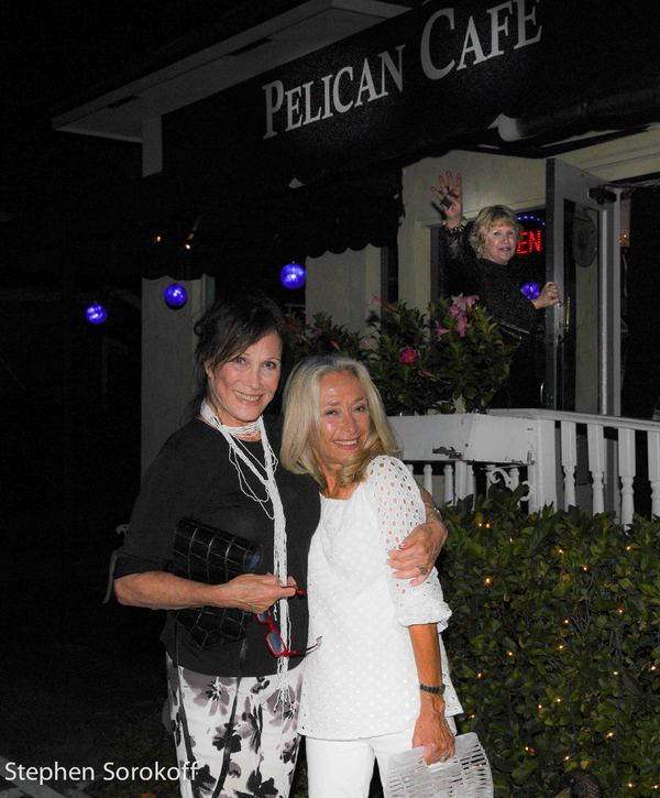 Photo Coverage: Michele Lee Visits Rat Pack Night at Pelican Cabaret