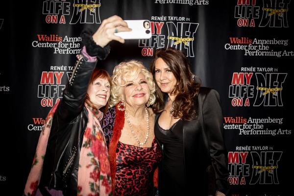 Renee Taylor, Joely Fisher and Frances Fisher