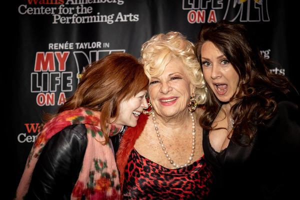 Renee Taylor, Joely Fisher and Frances Fisher Photo