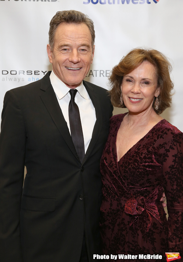 Bryan Cranston and Robin Dearden Photo