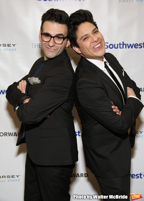 Joe Iconis and George Salazar Photo