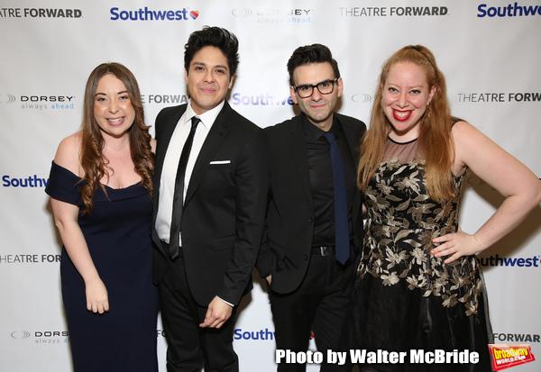 Jessica Kent, George Salazar, Joe Iconis and Jennifer Ashley Tepper