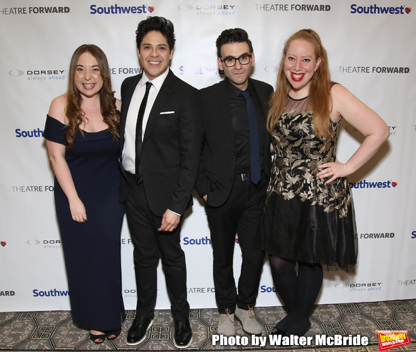 Jessica Kent, George Salazar, Joe Iconis and Jennifer Ashley Tepper Photo