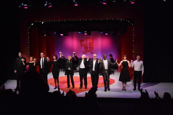 The Cast-Peter Saide, Janet Metz, Lewis Ceale, Lunne Wintersteller, Nancy Ford, Tom Jones, Brad Oscar, Gerry McIntyre, Samantha Bruce and Daniel J. Edwards