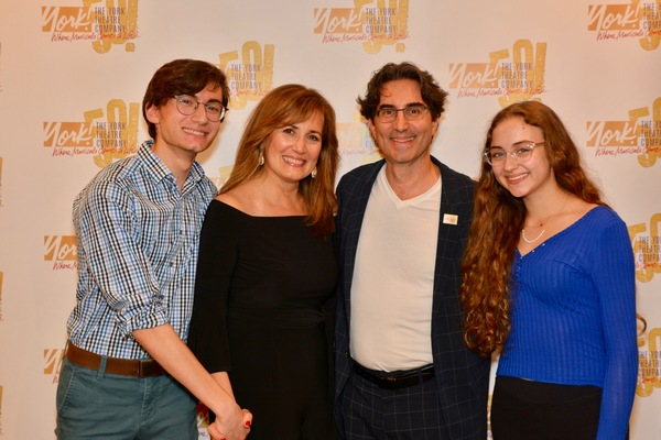 Nathaniel Unger, Janet Metz, Michael Unger and Phoebe Unger