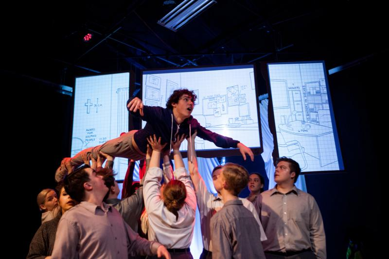 BWW Review: Left Curiously Emotional by THE CURIOUS INCIDENT OF THE DOG IN THE NIGHT TIME at Nebraska Wesleyan University Theatre