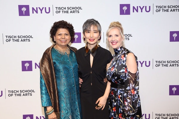 Chandrika Tandon, Sharon Chang and Dean Allyson Green Photo