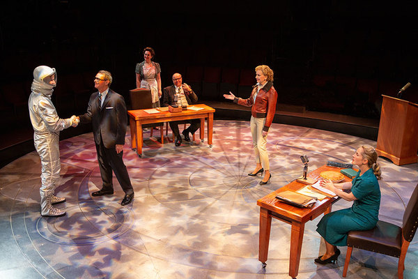 Photo Flash: First Look At THEY PROMISED HER THE MOON At The Old Globe