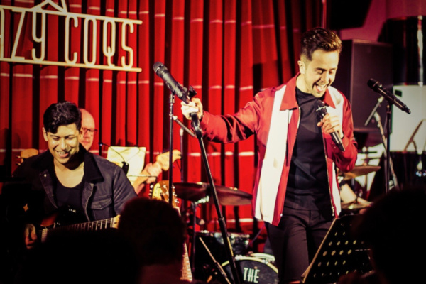 Nick Butcher join by musical director Chris Guard, Adam Martin (Guitars), Olly Buxton (Bass) and Chris Draper (Drums).