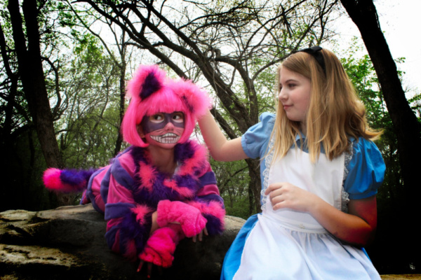Alice and the Cheshire Cat Photo